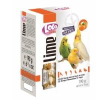 Lolo Pets Mineraalblok XL - Sinaasappel voor de grote vogel
