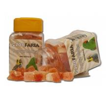 ZooFaria Papaya blokjes 350 ml/280 gr.