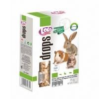 Konijnen en knaagdieren a la carte drops yoghurt Lolo Pets