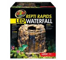 Zoo Med ReptiRapids LED Waterfall (Large Rock)