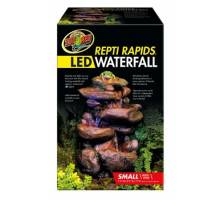 Zoo Med ReptiRapids LED Waterfall (Small Rock)