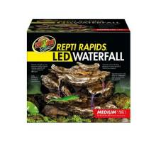 Zoo Med ReptiRapids LED Waterfall Medium Rock