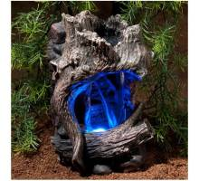Zoo Med ReptiRapids LED Waterfall (Small Wood)