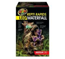 Zoo Med ReptiRapids LED Waterfall (Medium Wood)