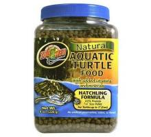 Zoo Med Natural Aquatic Turtle Food - Hatchling (micro pellet), 213g