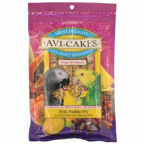 Lafeber Avi-Cakes Fruit Delight -  Papegaai 227 gram