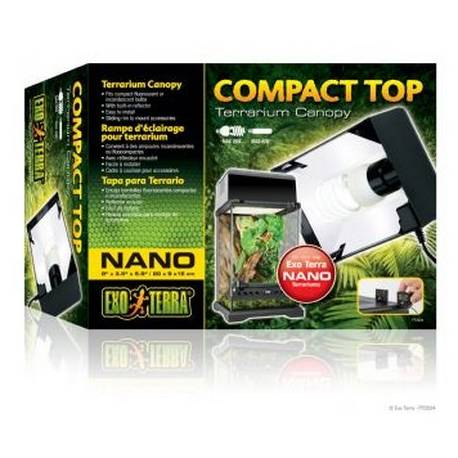 Exo Terra Compact Top Nano 20x9x15 cm