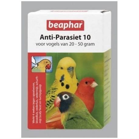 Beaphar Anti-Parasiet 10 vogel