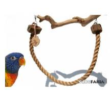 ZooFaria Bird Rope 1 meter 16 mm. dikte