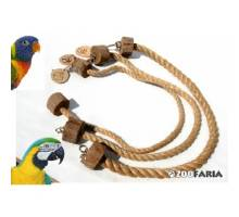 ZooFaria Bird Rope 1 meter 24 mm. dikte