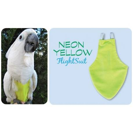 FlightSuit / Papegaaienluier Petite Yellow