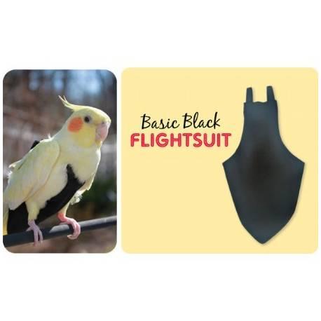 FlightSuit / Papegaaienluier X-Small Black