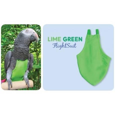 FlightSuit / Papegaaienluier X-Small Green