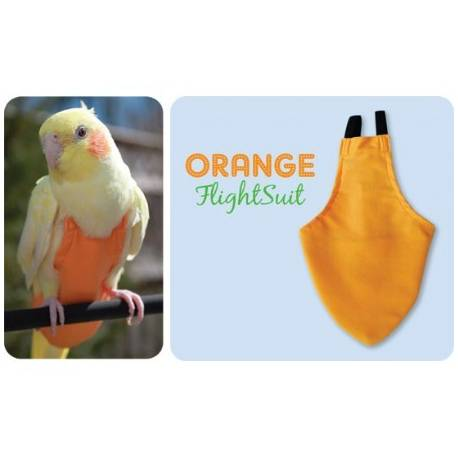 FlightSuit / Papegaaienluier Junior Small Orange