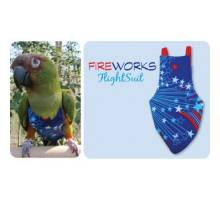 FlightSuit / Papegaaienluier Junior Small Fireworks