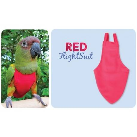FlightSuit / Papegaaienluier Medium Red