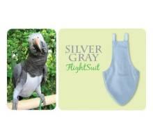 FlightSuit / Papegaaienluier Wide Plus Silver Grey