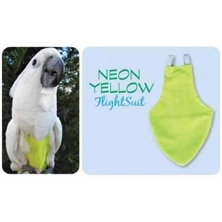 FlightSuit / Papegaaienluier X-Wide Neon Yellow