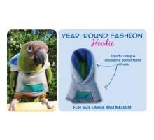 Papegaaien Hoodie Large Year-Round
