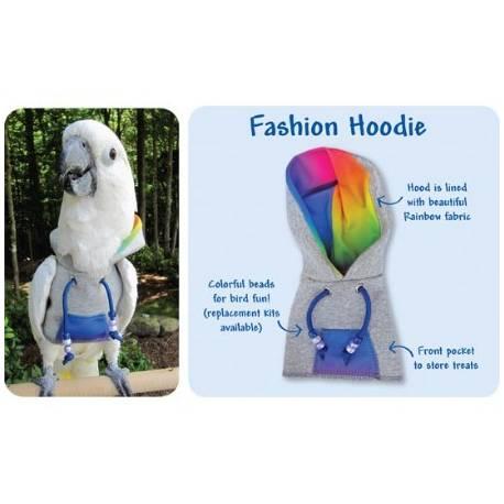 Papegaaien Hoodie X-Wide Year-Round