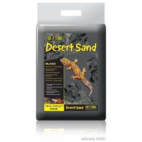 Exo Terra Desert Sand Zwart 4,5 KG