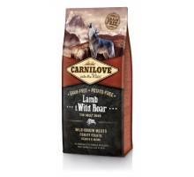 Brit Carnilove - Lam en Wildzwijn 12 kg