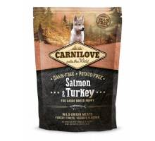 Brit Carnilove - Puppy Large Zalm en Kalkoen 1.5kg.