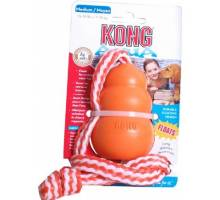 Kong Aqua+Touw - Medium