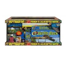 Zoo Med 40 Gallon Reptihabitat Aquatic Turtle Kit