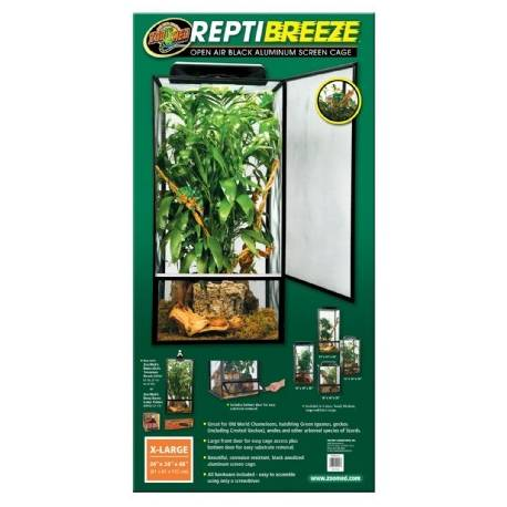 Zoo Med ReptiBreeze Alum Screen Cage X-Large