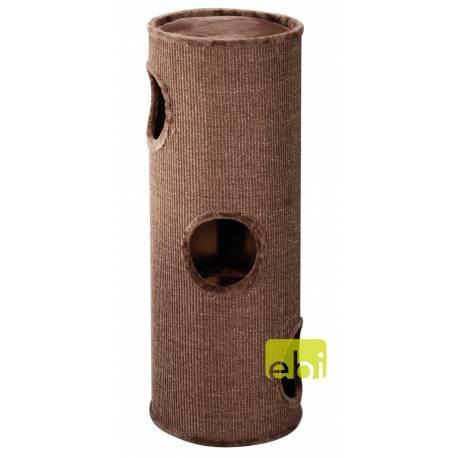 Ebi Krabpaal Trend Cat Dome Everlast Tower Bruin 3 Level