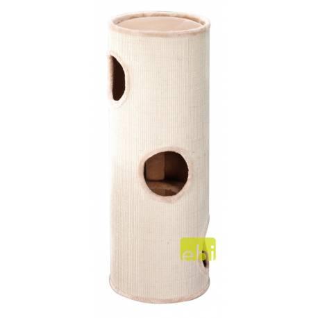 Ebi Krabpaal Trend Cat Dome Everlast Tower Naturel 3 Level