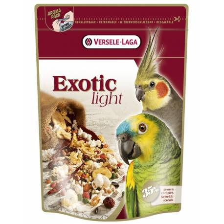 Exotic LIGHT MIX - Grote Parkieten en Papegaaien 750 Gram