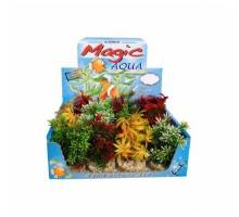Aquarium kunstplant Magic Fiësta Colours 16 cm