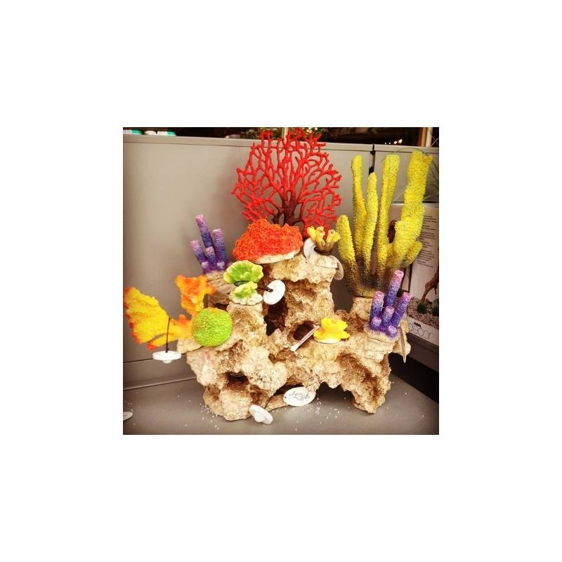 Aquarium decoratie Coral S Cabbage   AvonturiaShop