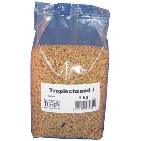 Tijssen Tropischzaad I [klein] 1 kg