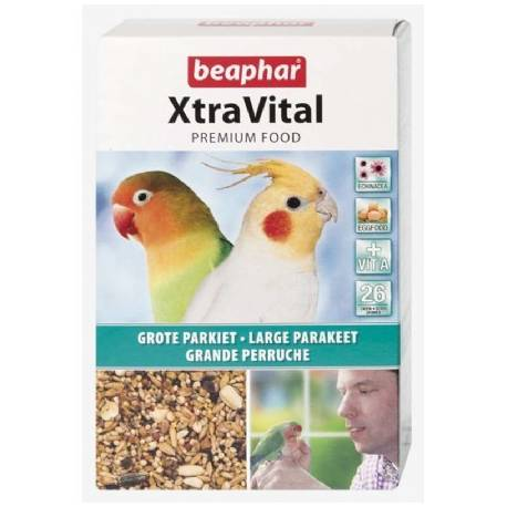 Beaphar XtraVital grote parkiet 500 gram