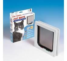 Cat Mate Kattenluik 309 bruin met vierwegsluiting