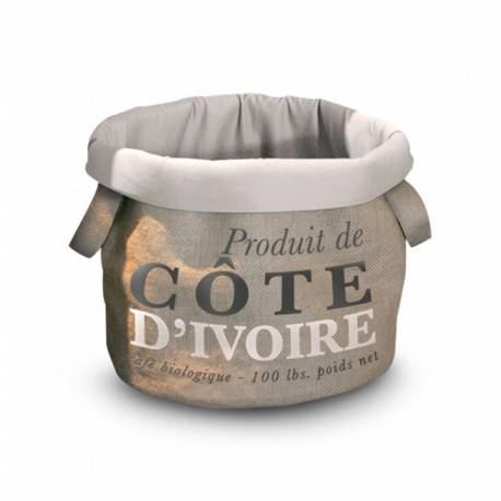 D&D HOMECOLLECTION Pet-Bag Coffee COTE D'IVOIRE 35cm kat voerbak