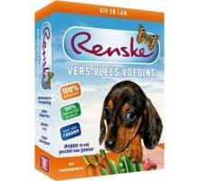 Renske Vlees 395g - Puppy Kip en Lam hondenvoer