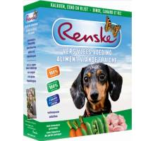 Renske Vlees 395g - Kalkoen en Eend hondenvoer