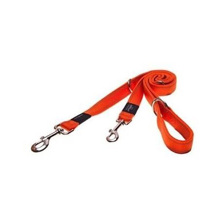 Rogz verstelbare lijn Oranje - Large
