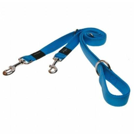 Rogz verstelbare lijn turquoise - XLarge