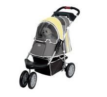 InnoPet - Buggy First Class geel/grijs