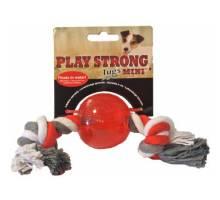 Playstrong Ball met floss - Mini