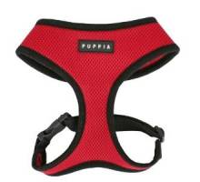 Puppia soft harness XXL red hondenharnas