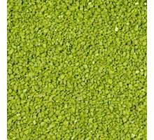 Aquariumgrind Decoflint, groen. 3 tot 5 mm. 1KG