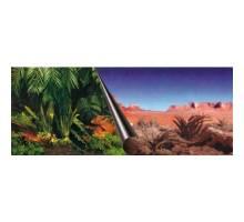 Foto-achterwand Jungle en Dessert 120x50 cm
