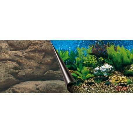 Foto-achterwand - 60 cm-coupe Sea en Rock - 30 cm