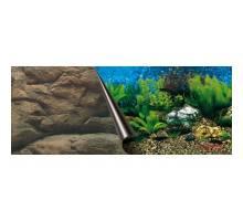 Foto-achterwand 120cm-coupe SEA en ROCK  50cm